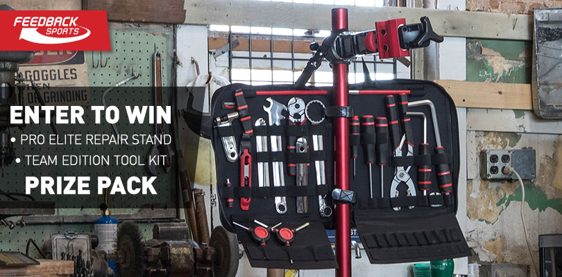 Win a Pro Elite Bike Repair Stand and Team Edition Tool Kit from Feedback Sports
