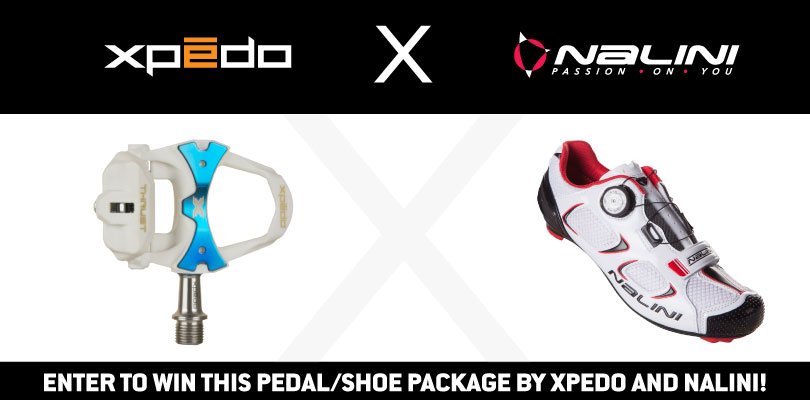 Win a Pedal/Shoe Package from Xpedo and Nalini