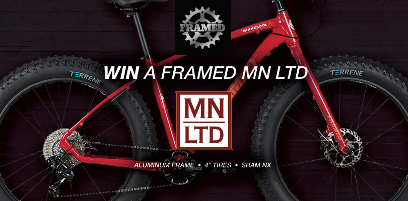 Win a Minnesota LTD Fat Bike from Framed Bikes