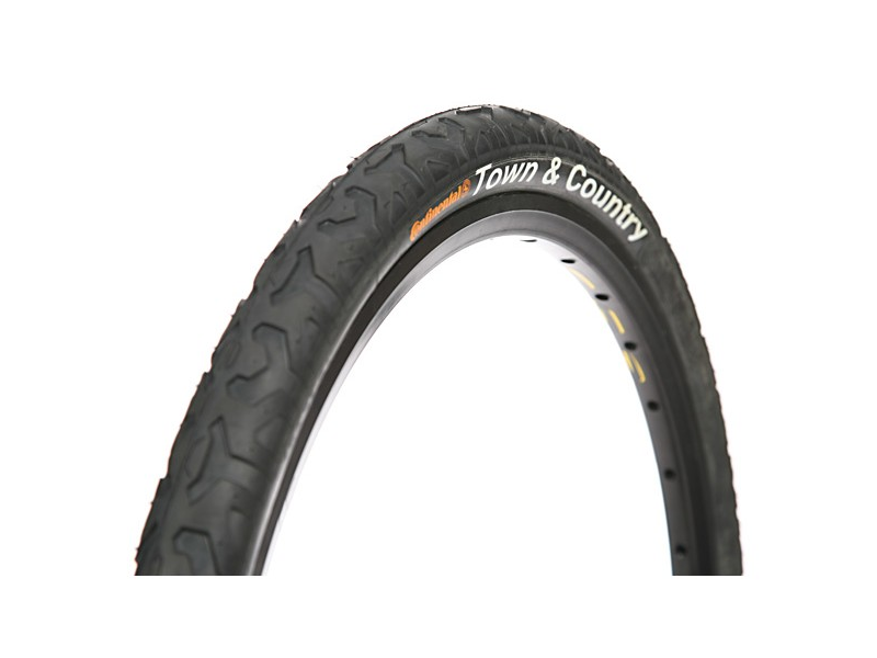 "1 or 2-PAK Continental Town and Country 26/"" x 1.9 2.1/"" Fast City MTB Bike Tire"